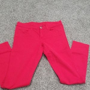 American Eagle - Stretch Red Jean's- Size 8 Reg